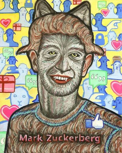 Robert Preston, 'Mark Zuckerberg', 2009-2011