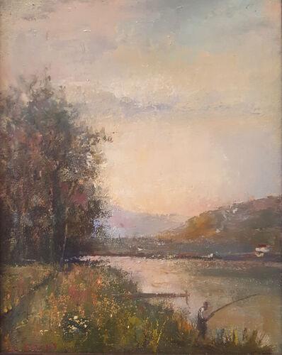 Lawrence Kelsey, 'Delaware River Evening', 2004