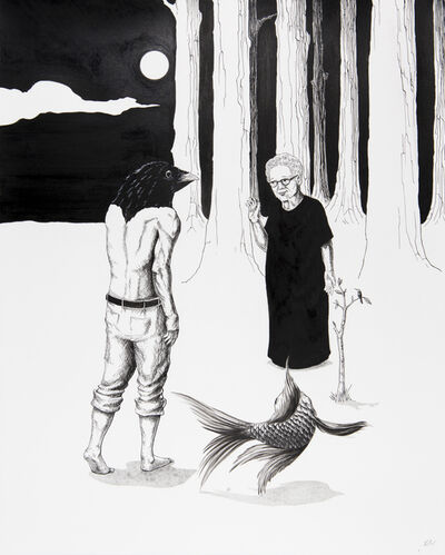 Emmanuel Crespo, 'Entering the Forest', 2020