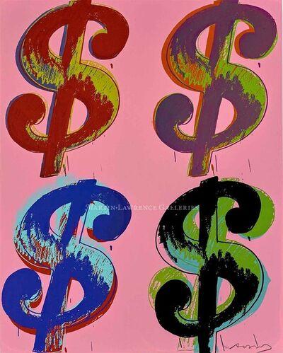 Andy Warhol, '$ (4), 1982 (#282)', 1982