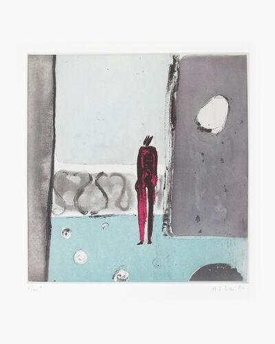 Joy Laville, 'Mujer en el balcón 6/40', ca. 2010