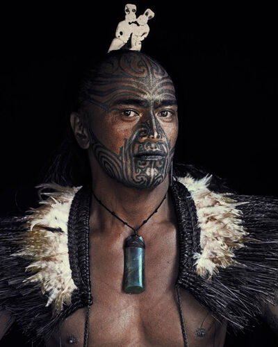 Jimmy Nelson, 'IX 128 // IX Maori, New Zealand', 2011