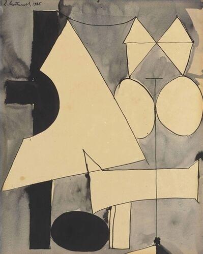 Robert Motherwell, 'Untitled'