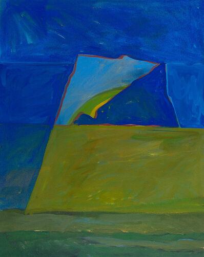 Lee Hall, 'SOUNION DUSK SHADOW', 1986