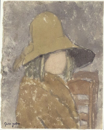 Gwen John, 'Girl in Wide-Brimmed Hat', Probably executed during the 1920s