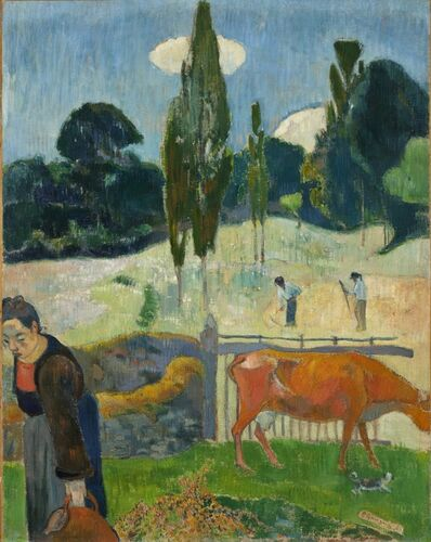 Paul Gauguin, 'The Red Cow', 1889