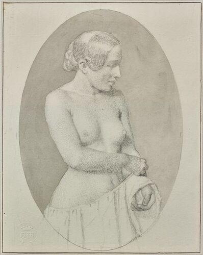 Christoffer Wilhelm Eckersberg, 'Young Woman Undressing', 1844