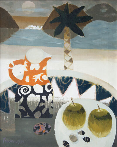 Mary Fedden, 'Brown and Black Jug', 1987