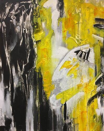 Moisés Moreno, 'Black, white and yelow', 2017