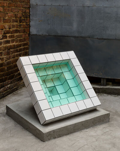 Zac Hacmon, 'Standing Pool (green)', 2018