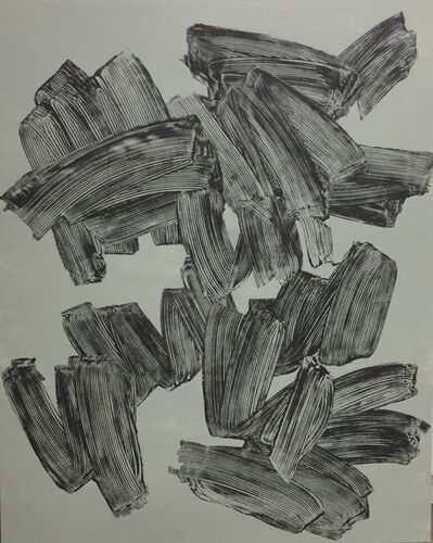 Lee Eu, 'Geste gris-bleu', 2019