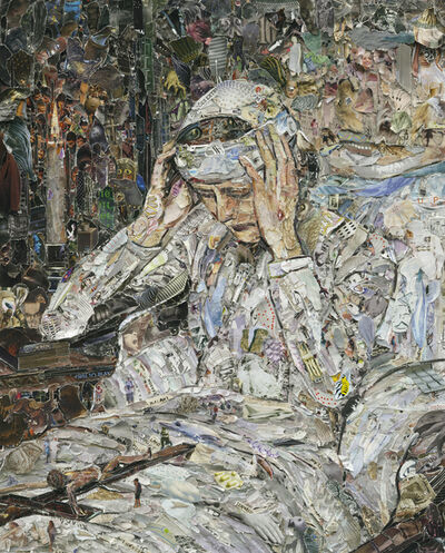 Vik Muniz, 'Pictures of Magazine 2: The Ecstatic Virgin Anna Katharina Emmerich', 2013