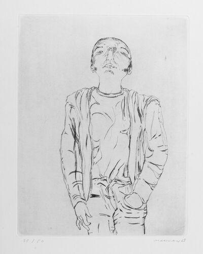 Marwan Kassab-Bachi, 'Der Unverdeckte', 1969