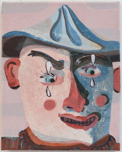 Pieter Jennes, 'Zelfportret als clown', 2019
