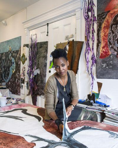 Wangechi Mutu, 'Studio Visit'