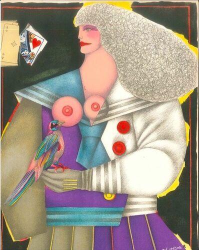 Richard Lindner, 'Untitled', 1974