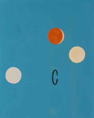 Péter Somody, 'Overlaid Blue', 2016
