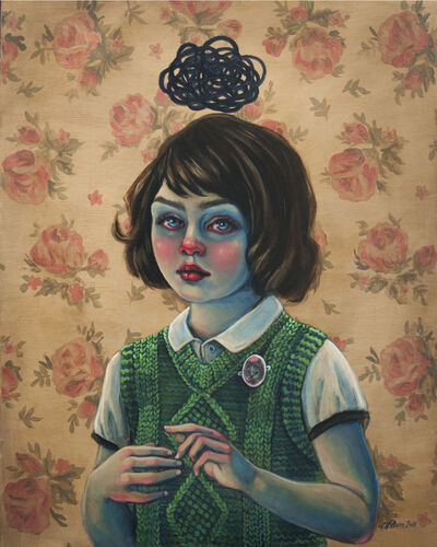 Lori Nelson, 'Little Trouble Girl', 2018