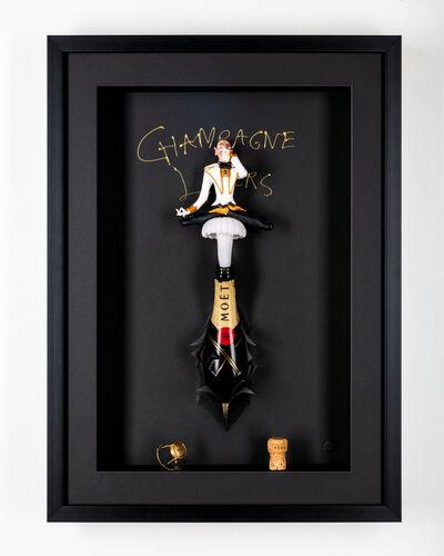 Kunst met een R, 'Champagne Lover Classic ', 2020