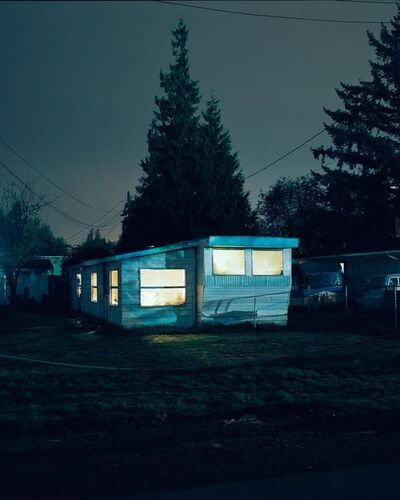 Todd Hido, 'Untitled, #2810-10 from Excerpts from Silver Meadows, ', 2001