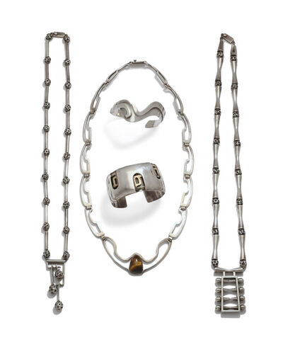 Erika Hult de Corral, 'A group of Erika Hult de Corral Modernist jewelry'