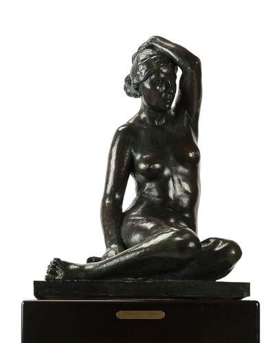 Felipe Castaneda, 'Seated Nude', 1984