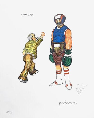 Ferdie Pacheco, 'TEACHER & PUPIL (BOXING)', ca. 1980