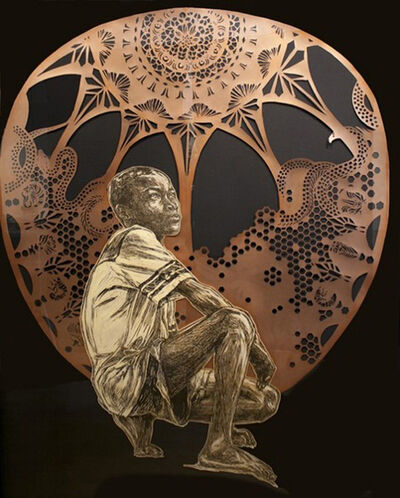 Swoon, 'Walkie', 2012