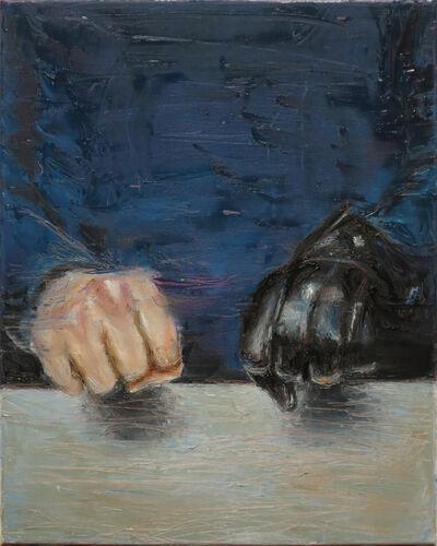 András Király, 'Glove', 2016