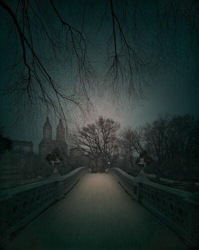 Michael Massaia, 'Bow Bridge, Looking North, predawn, Central Park, New York City', 2019