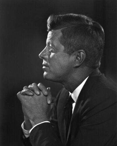 Yousuf Karsh, 'John F. Kennedy', 1960
