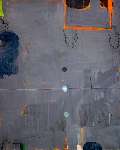 Gary Komarin, 'The Vicar's Wife in Grey and Orange', 2018