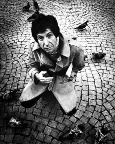 Gijsbert Hanekroot, 'Leonard Cohen, Amsterdam', 1972