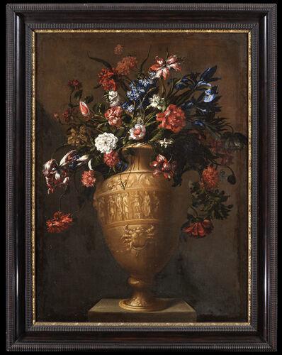 Mario Nuzzi, called Mario Dei Fiori, 'A Vase of Flowers', 17th Century
