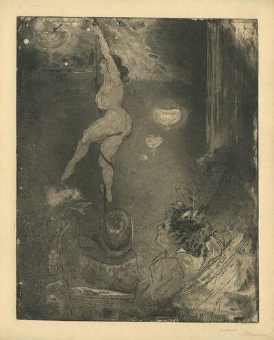 Charles Maurin, '[Acrobate au Cabaret, Ambiance]', ca. 1890