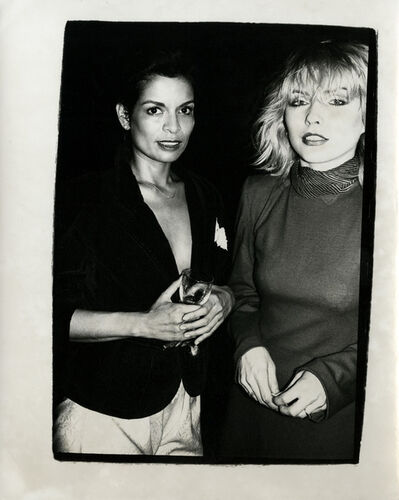 Andy Warhol, 'Andy Warhol, Photograph of Bianca Jagger & Debbie Harry (Blondie) circa 1985', ca. 1985
