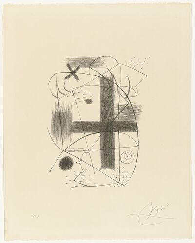 Joan Miró, 'Lithographie II', 1930; printed in 1973