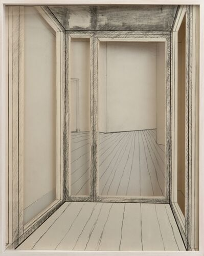 Christo, 'Corridor Store Front Project', 1968