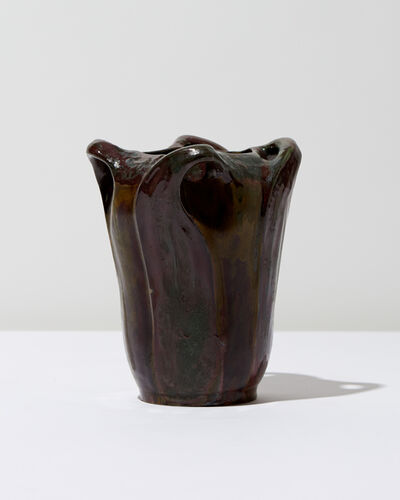 Atelier de Glatigny, 'Flared Vase', 1899