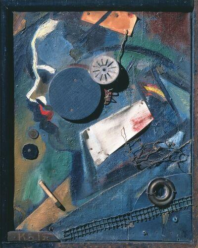 Kurt Schwitters, 'Merzbild 1A. The mental doctor.', 1919