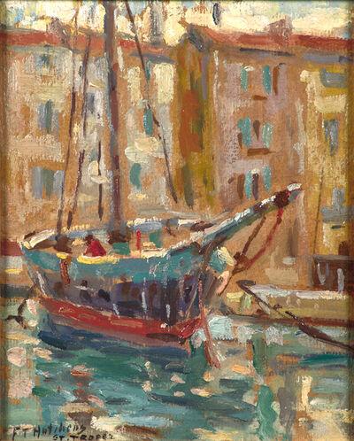 Frank Townsend Hutchins, 'Untitled (St. Tropez Harbor)'