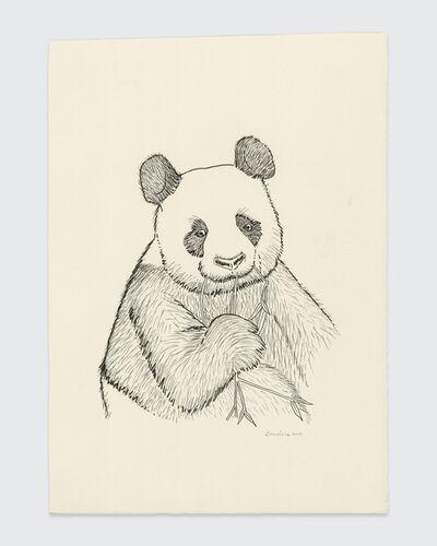 Sean Landers, 'Panda', 2019