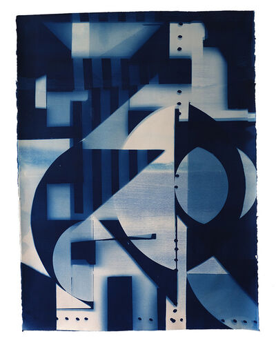 Alejandra Laviada, 'Sculpture Cyanotype #2', 2020
