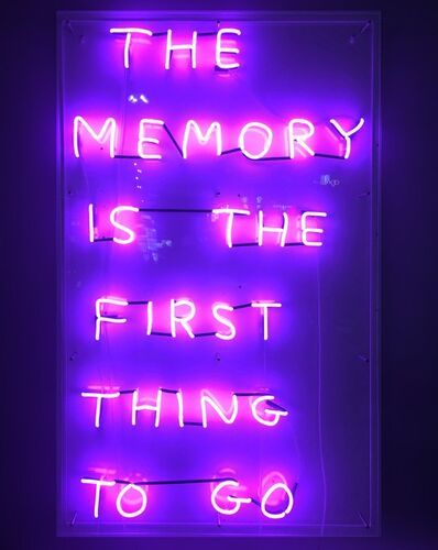 David Shrigley, 'The Memory', 2019