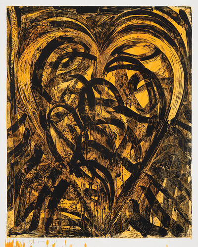 Jim Dine, 'Work it for the Pleasure', 2018