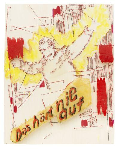 Birgit Brenner, 'Das hört nie auf', 2016