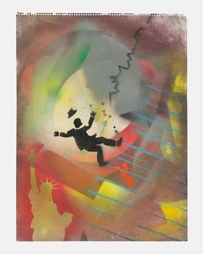 David Wojnarowicz, 'Falling Man and Statue of Liberty ', 1981