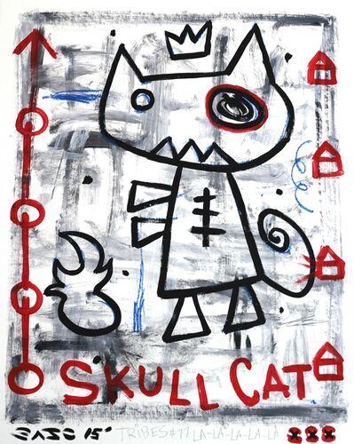 Gary John, 'Skull Cat', 2015