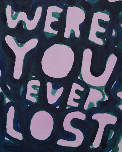Stefan Marx, 'Were You Ever Lost', 2019