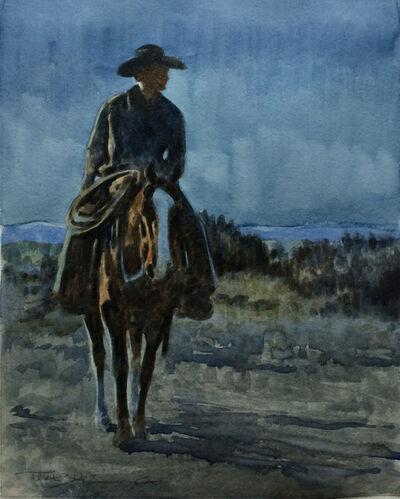 Teal Blake, 'Horse Thief Moon'